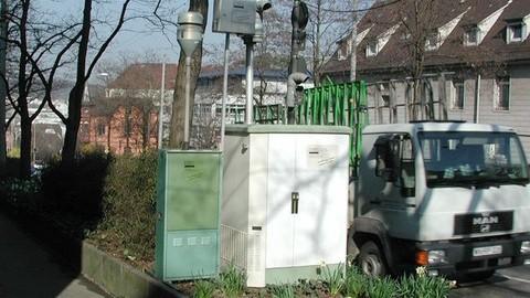 Messstation in Stuttgart